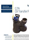 GTA Multi-Purpose Submersible Archimedes Positive Displacement High Performance Screw Pumps - Leaflet
