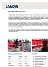 Rapid Boom Recovery Unit - Technical Specification