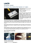 Lamor - Weir Skimmer Slurp - Technical Specification