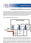 Pumping or Lift Station level control Application Note