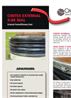 Cretex - X-85 - External Chimney High-Performance Watertight Seal Datasheet