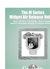 M Series - Midget Air Release Valve Brochure