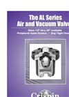AL Series Air & Vacuum Valve- Brochure