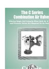 Combination Air Valve C Series- Brochure