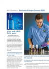 Wet Chemistry - Biochemical Oxygen Demand (BOD) Brochure