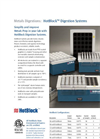 Metals Digestions - HotBlock Digestion Systems Brochure