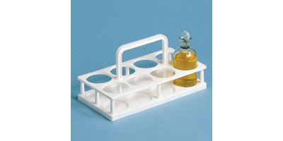Model D1054 - BOD - Bottle Carrier, Polypropylene, 8-place, Set of 2