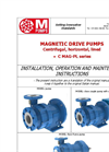 Model C MAG-PL - Lined Centrifugal Pump Brochure