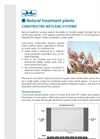 Constructed Wetland Systems Brochure