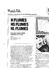 H, HS and HL Flumes Brochure