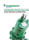 Models S3SD/S4SD and SB3SD/SB4SD - Submersible Sewage Pump Dual Seal Pumps Brochure