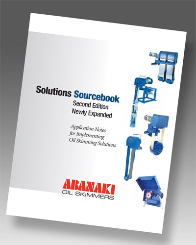 Abanaki Publishes Expanded Oil Skimming Solutions Sourcebook