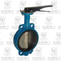 Pioneer - Model D71X - Wafer Type Butterfly Valve