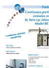 Model BETA 5M Continuous Particulate Emissions Monitor Data Sheet
