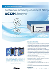 AS32M Continuous Monitoring of Ambient Nitrogen Dioxide Analyzer Brochure