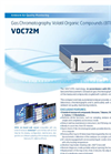 VOC72M Gas Chromatography Volatil Organic Compounds (BTEX) Analyzer Brochure