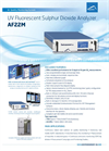 AF22M UV Fluorescent Sulphur Dioxide Analyzer Brochure