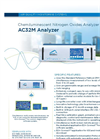 AC32M Analyzer Chemiluminescent Nitrogen Oxides Analyzer - Brochure