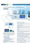 AF22e UV Fluorescent Sulfur Dioxide Analyzer - Brochure