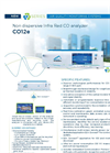 CO12e Non Dispersive Infra Red CO Analyzer - Brochure