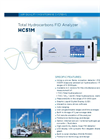 HC51M Total Hydrocarbons FID Analyzer - Brochure