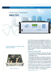 MGC101 Multi-Gas Calibrator - Brochure