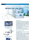 MP101M with CPM Option Automatic & Real-Time Suspended Particulate Monitor - Brochure