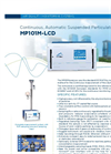 MP101M-LCD Continuous, Automatic Suspended Particulate Monitor - Brochure