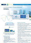 O342e UV Photometric Ozone Analyzer - Brochure