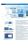 VOC72M Gas Chromatography Volatil Organic Compounds (BTEX) Analyzer - Brochure