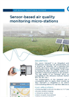 Fixed or portable Multiparameter Micro Monitoring Station MMS - Brochure