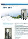 HOFI BOX – Stack Gas Sampling System - Brochure