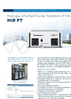 MIR FT Multi-gas Infra Red Fourier Transform (FTIR) Analyzer - BrochureMIR FT Multi-gas Infra Red Fourier Transform (FTIR) Analyzer - Brochure