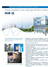 MIR IS Close-Coupled in Situ Multi-Gas IR-GFC Analyzer - Brochure