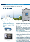MIR 9000 Multi-Gas Infrared GFC Analyzer - Brochure