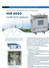 MIR 9000 Multi-Gas Infrared GFC Analyzer (With CLD Option) - Brochure