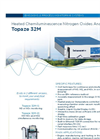 Topaze 32M Heated Chemiluminescence Nitrogen Oxides Analyzer - Brochure