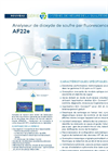 AF22e UV Fluorescent Sulfur Dioxide Analyzer (French) - Brochure