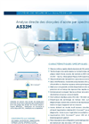AS32M Continuous monitoring of ambient Nitrogen Dioxide Analyzer (French) - Brochure