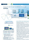 CO12e Non Dispersive Infra Red CO Analyzer (French) - Brochure