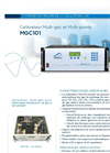 MGC101 Multi-Gas Calibrator (French) - Brochure