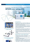 MP101M Automatic & Real-Time Suspended Particulate Monitor with CPM Option (French) - Brochure