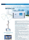 MP101M-LCD Continuous, Automatic Suspended Particulate Monitor (French) - Brochure