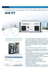 MIR FT Multi-gas Infra Red Fourier Transform (FTIR) Analyzer (French) - Brochure