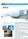 MIR IS Close-Coupled In Situ Multi-Gas IR-GFC Analyzer (French) - Brochure