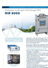 MIR 9000 Multi-Gas Infrared GFC Analyzer (French) - Brochure
