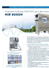MIR 9000H Heated Multi-Gas Infra-Red GFC Analyzer (French) - Brochure