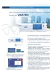 Environnement S.A VOC72M Gas Chromatography Volatil Organic Compounds (BTEX) Analyzer - Brochure
