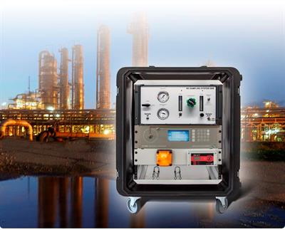 Model UT-3000 NG - Mobile Mercury Analyzer System for Natural Gas