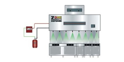 Amerex - Model ZD - Restaurant Fire Suppression System